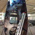 Saldatura pinna navale