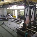Cabina per tornio verticale